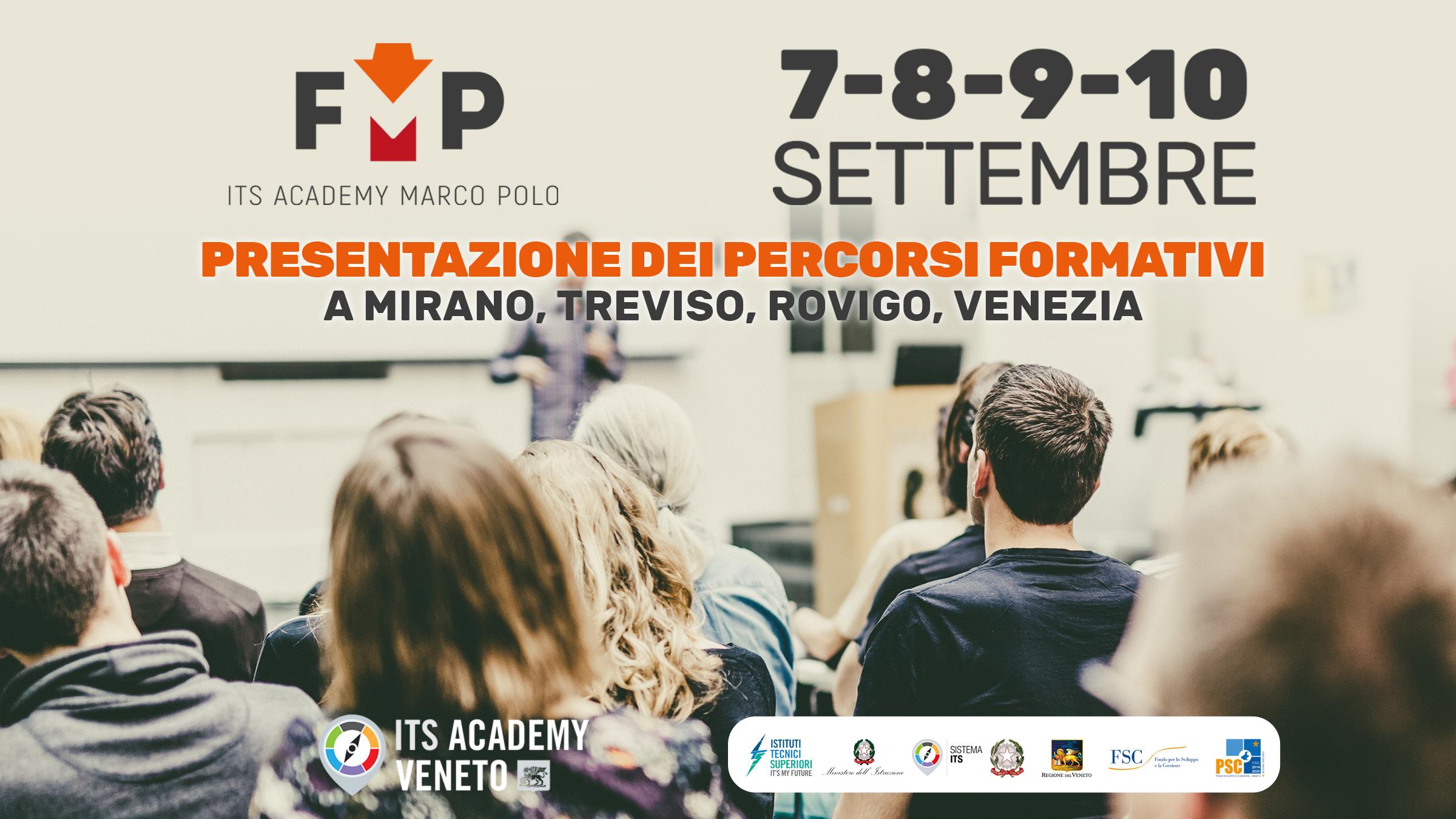 Presentazione percorsi formativi ITS Marco Polo Academy settembre 2021