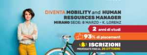 Diventa Mobility and Human Resources Manager a Mirano