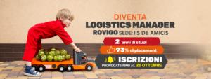 Diventa Logistics Manager a Rovigo