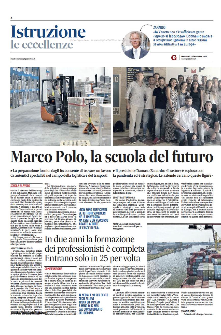 ITS Marco Polo Academy Scuola del Futuro